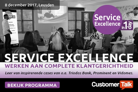 08 dec | CustomerTalk - Service Excellence in 1 Day