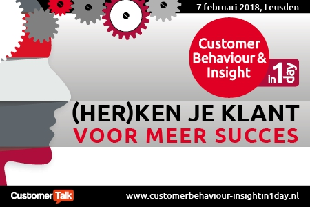 07 feb | Customer Behaviour & Insight  in 1 Day