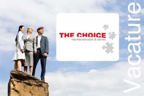 The Choice - Junior Marktonderzoeker (32 - 40 uur)